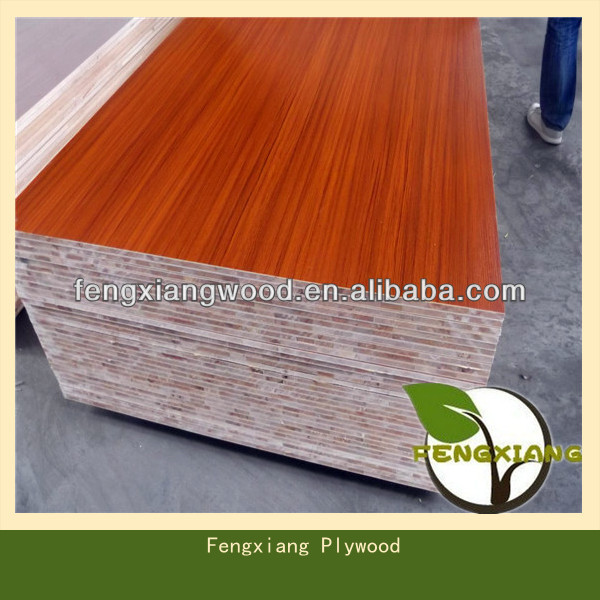 High Quality Teak Faced Blockboard