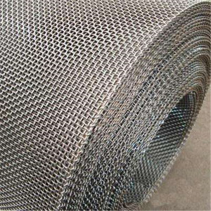 Heating resistant fireplace screen material fecral woven wire mesh