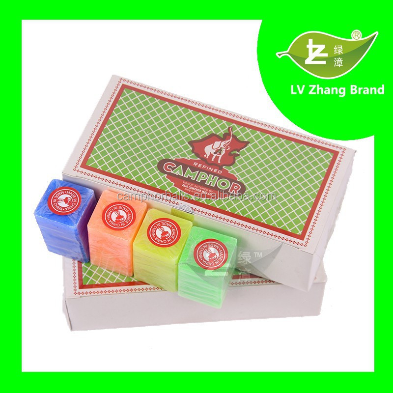 PDCB Air Freshener Moth Reject Deodorant Fragrance Elephant Brand 1/16OZ 96%Synthetic Camphor Block Ball