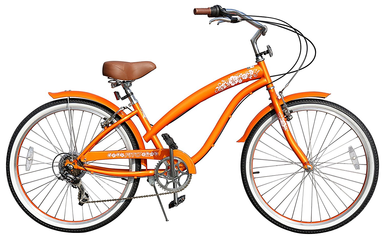 Fito Modena Sport Sf 7 Sd Women S Wheel Beach Cruiser Bike With Silver Rims