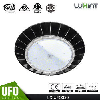 5 years warranty waterproof led ufo high bay light ip65 aluminium led light