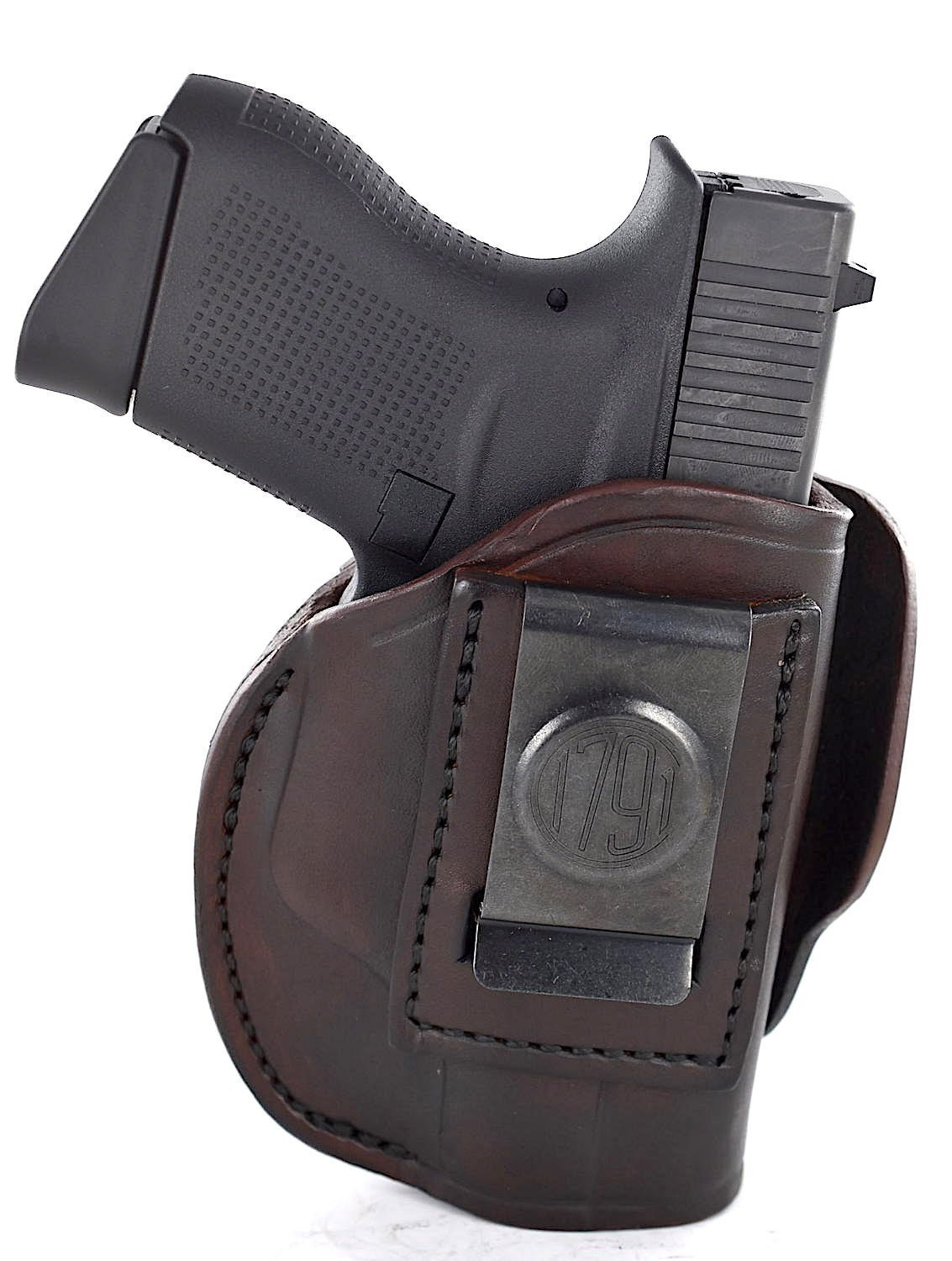 Buy LEATHER THREE SLOT PANCAKE HOLSTER (OWB) WITH THUMB