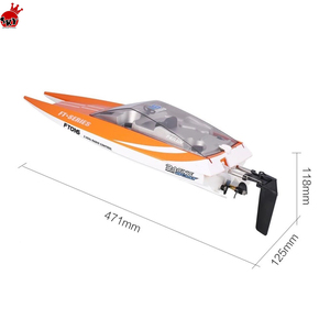 New Arrival Feilun FT016 2.4G 4CH Waterproof RC Boat motor High Speed 28km/h remote control racing boat Toys For Children