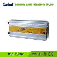 meind 2000W dc12V ac 220V,modified sine wave inverter with charger for solar panel