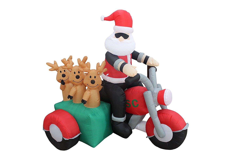 Cheap Santa Motorcycle Inflatable, find Santa Motorcycle Inflatable ...