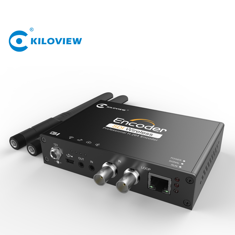 Professionale iptv in streaming srt encoder h 264 hd sdi al convertitore ip encoder hardware
