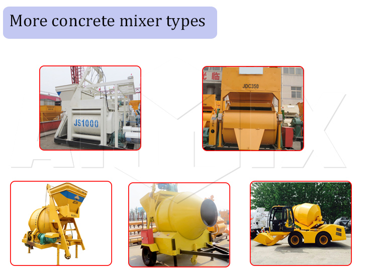 3.5m3 Universal Concrete Mixer Machine self loading ready mix truck for sale