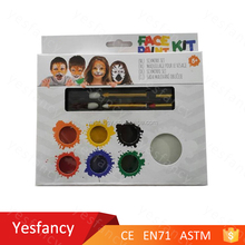 7 colors halloween face painting ideas make up kit for kids for sale