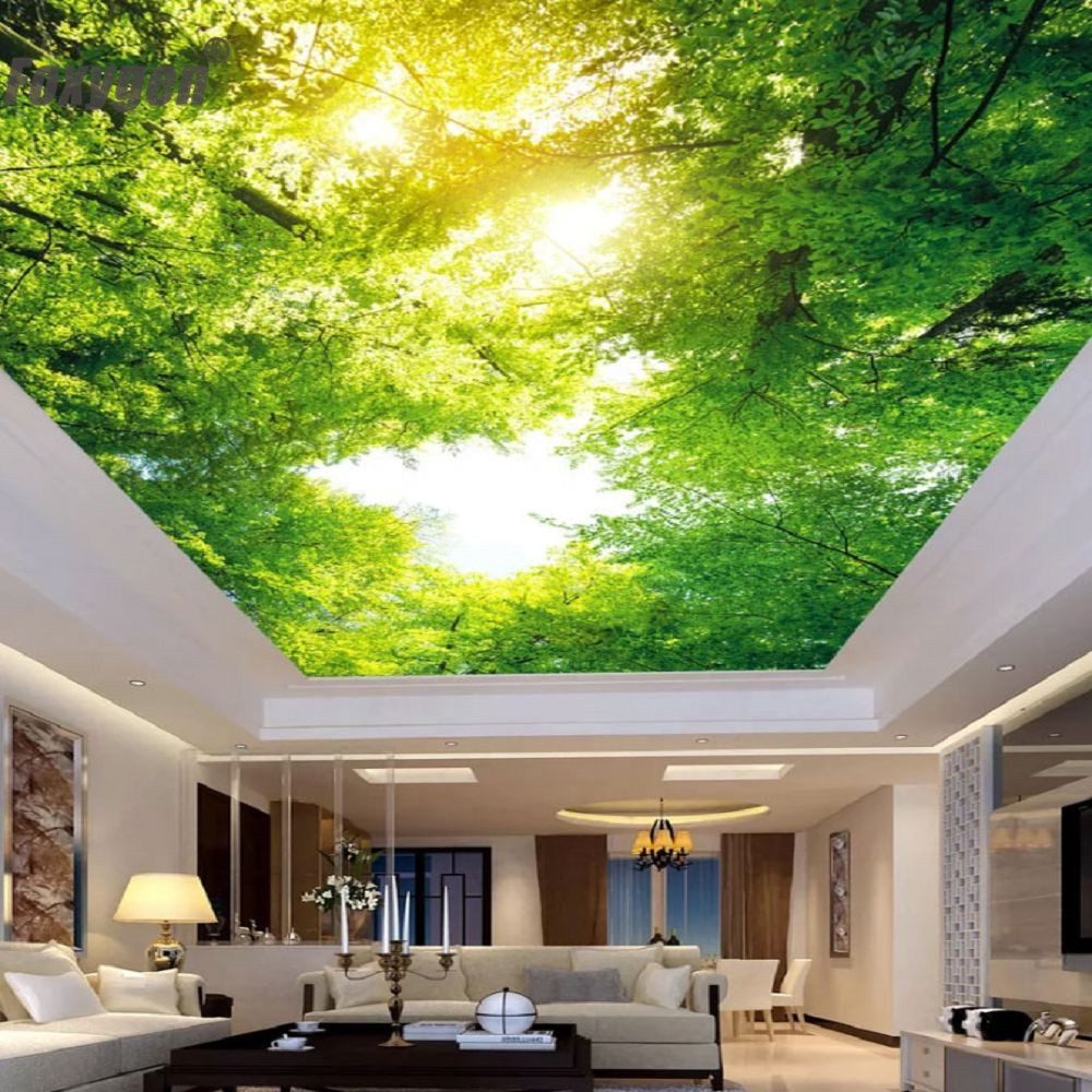 Pop False Ceiling 3d Effect Stretch Ceiling Lighting Box