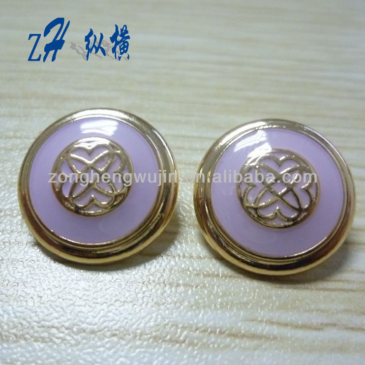 22mm fashion zinc alloy sewing buttons