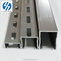 Factory Direct Supply Slotted Galvanized strut channel Steel Unistrut HDG Gi strut c channel steel