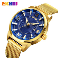 Relogio de marca clock manufacturers Chinese luxury brands skmei cheaper gold bezel japan movt men watches premium mens watch