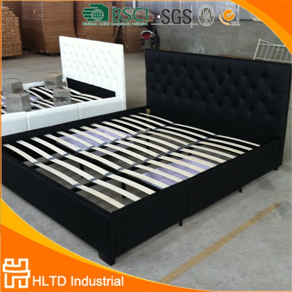 Italian Top-Grain Leather Bed King,Suiying BED,Bedroom Furniture