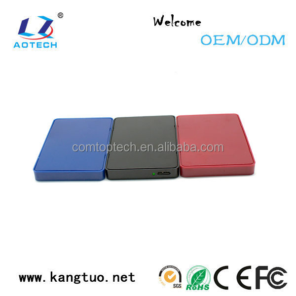 Newest product 2.5 inch USB2.0/USB3.0 pata hard drive enclosure