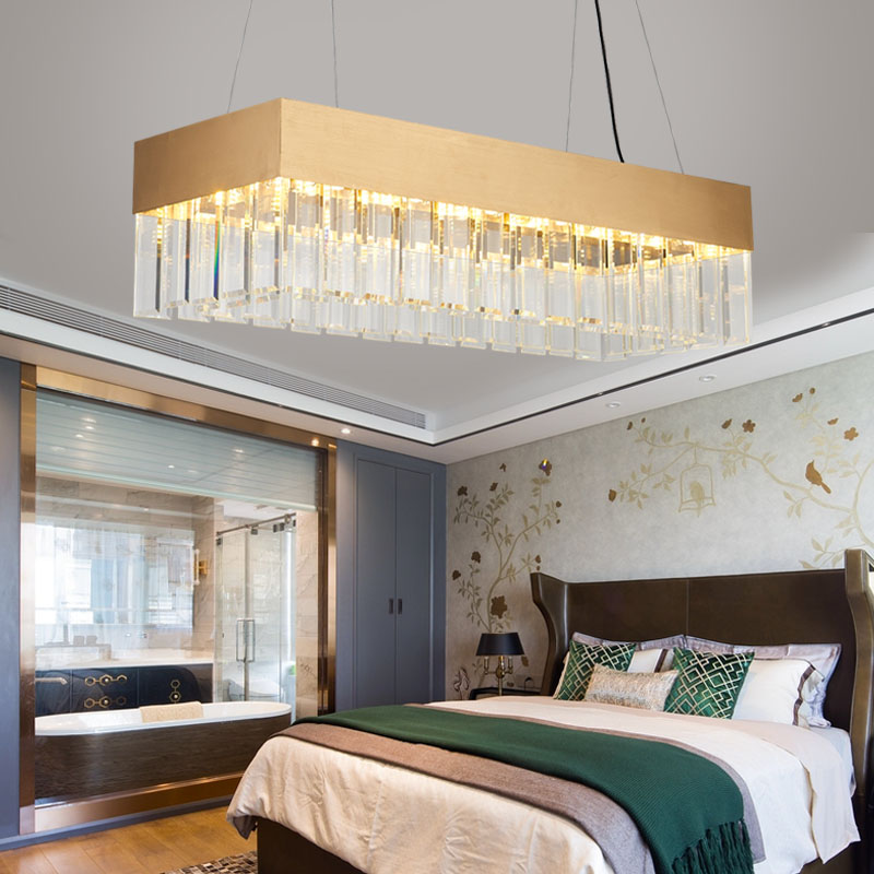 Clical Chinese Style Ceiling Lamp Modern Luxury Crystal Chandelier Lighting