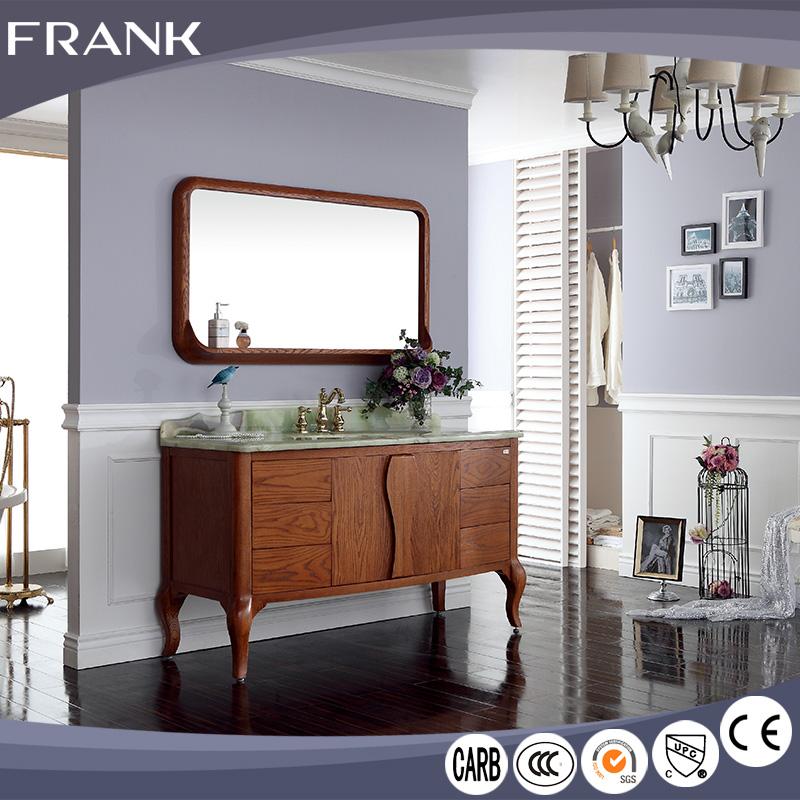 frank hecho en china moderna muebles de modelo de piso reflejo de bao vanidad