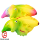 Factory Customized Lizard Banana Squishy Toy Scented Squeeze Banana Stress Relief Slow Rising Toy