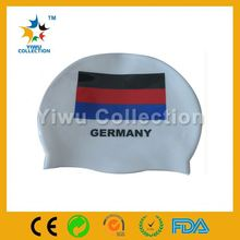 new sporty swim cap,professional factory make swim caps,quality colorful silicone dome swim cap
