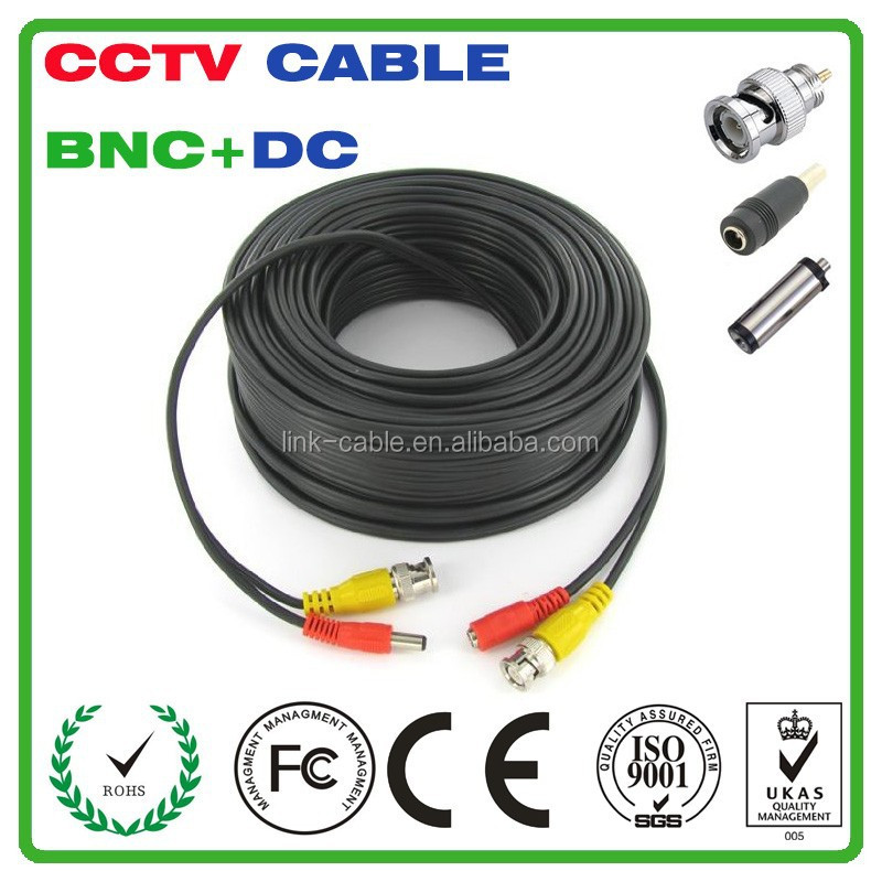 Hot Sell Reasonable Price 25Ft 75ohm Premade Siamese Cable