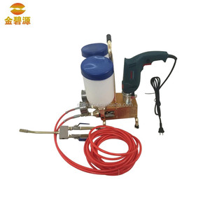 High Pressure polyurethane injection grout machine/ grout pump for concrete crack repaired