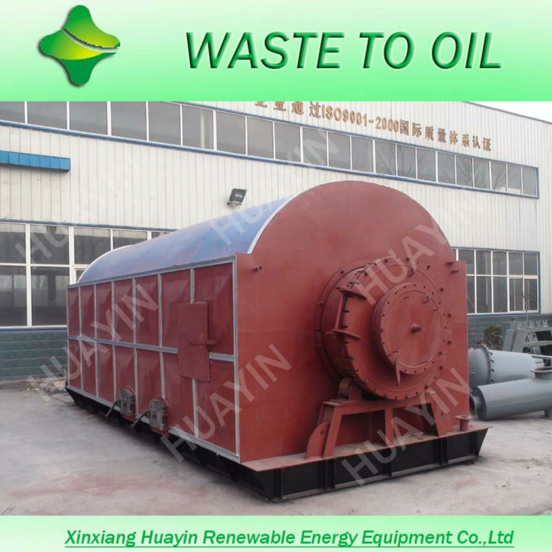 New green engergy Zero Expolsion and emisson plastic scrap pyrolysis machine for crude oil