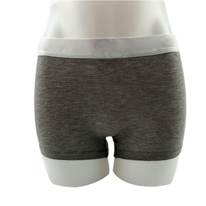 Custom wholesale women plain cotton boyshorts female underwear boxer briefs