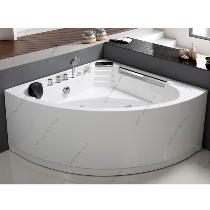 Corner Air Bubble Available Bathtub With Seat With Mat Pillow - Buy ...