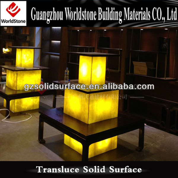 interior lamp shade for restaurant and hotel