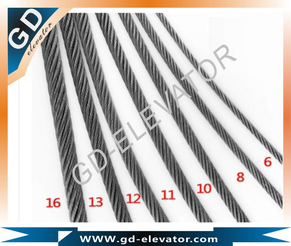 8x19S+FC elevator steel wire rope