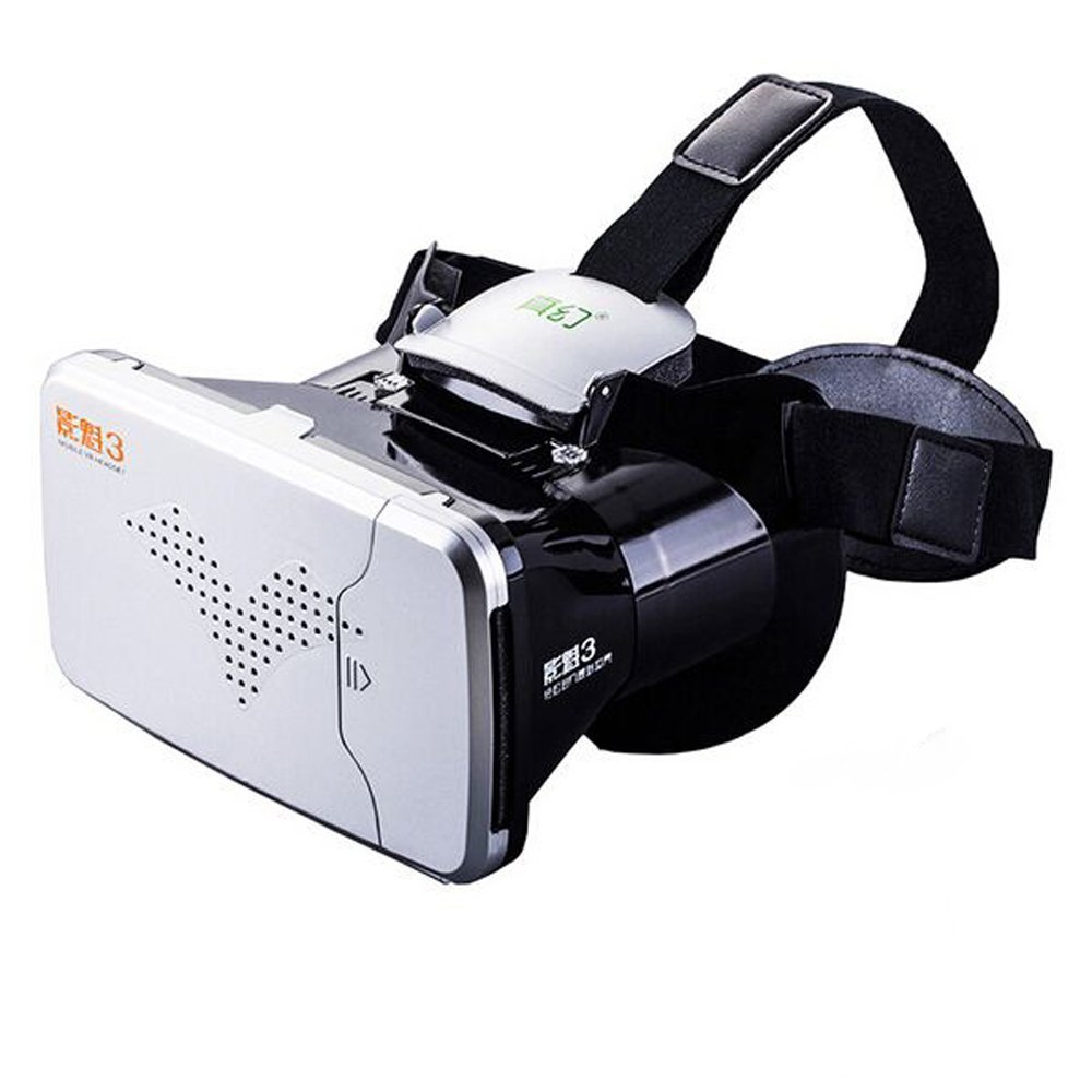 Fashion VR Glasses For iPhone 7 6 6S Plus Huawei Headset Virtual Reality 360 Degree Cardboard 3D Glasses For 3.5-6.0 Smart Phone