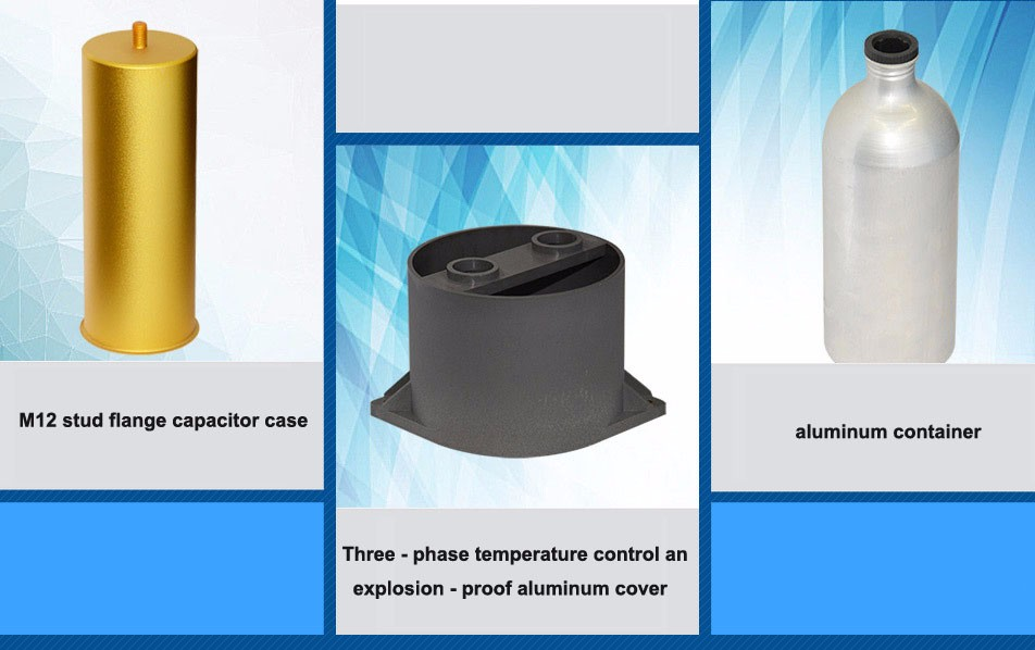 Empty Electrolytic Aluminum Capacitor Shell Can Lighting