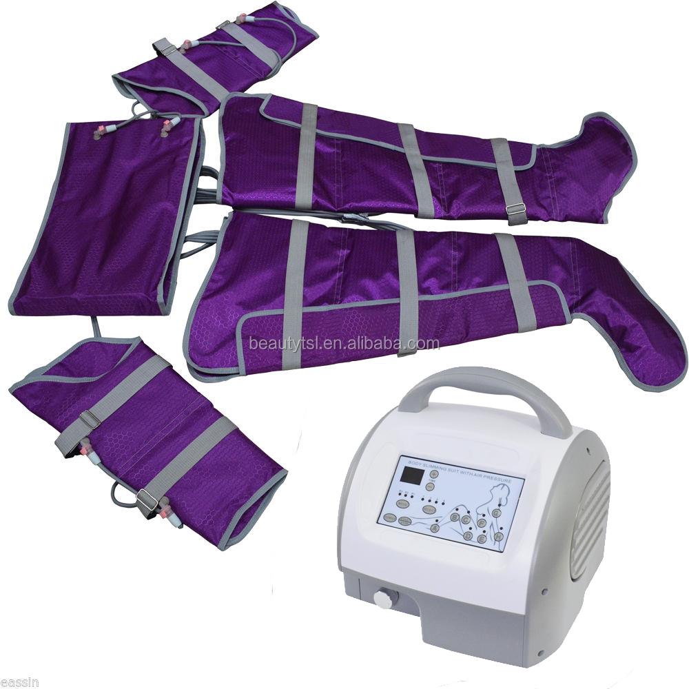 ポータブルプロの空気圧力マッサージプレッソリンパドレナージュマシン販売のため