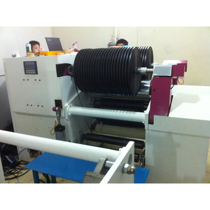 Four-shaft automatic adhesive tape slitting machine/ bopp/paper/pe/pvc/masking tape/film cutting and making machine