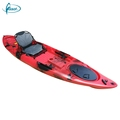 2017 new canoes cheap river sit on top fishing kayak handle