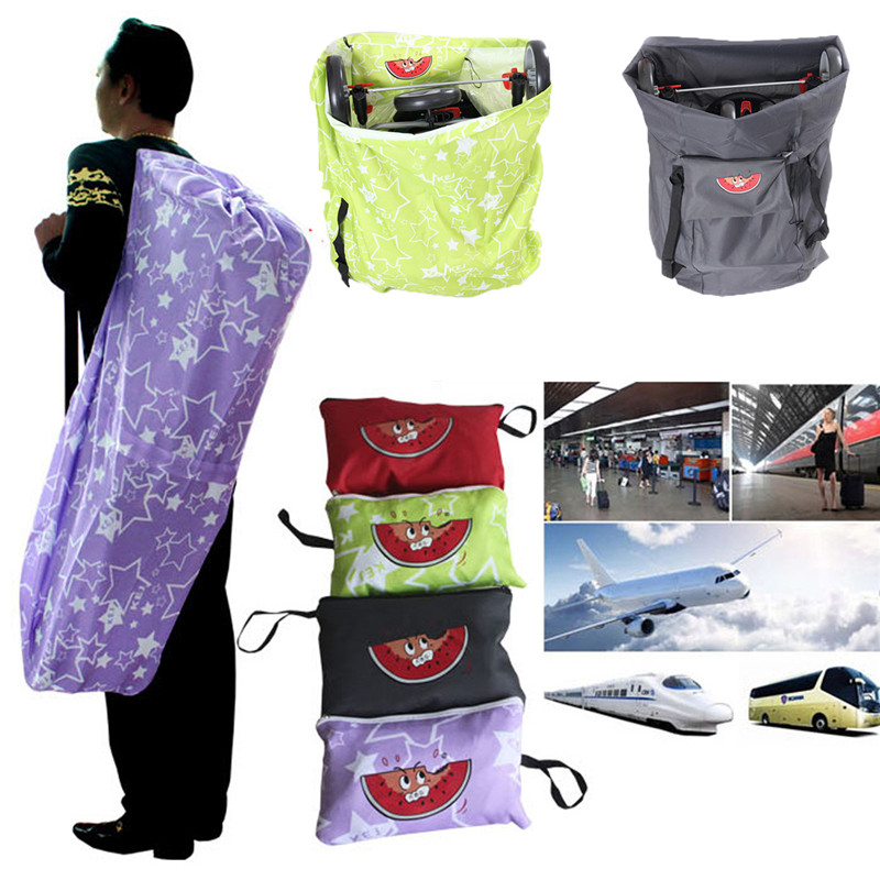 New Arrival Portable Baby Stroller Travel Bag Car Umbrella Stroller Pram Car Train Plane Travel Bag Baby Car Set Four Colors
