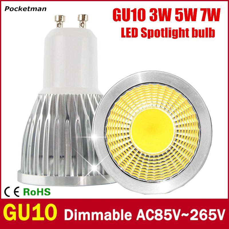 super bright gu10 led bulb 3w 5w 7w led lamp light gu10 cob dimmable gu 10 led spotlight warm. Black Bedroom Furniture Sets. Home Design Ideas