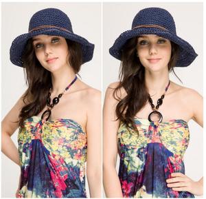 5c8baaf2796db Girls Floppy Raffia Hat Wholesale