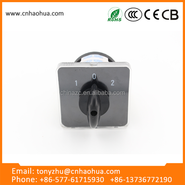 high quality LW31 series 25A socomec manual changeover switch cam switch