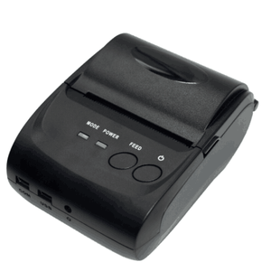58mm mini Bluetooth thermal printer for varieties mobile APP and ERP retail & restaurant software