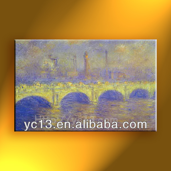 famous oil paintings master reproduction Monet artists copy
