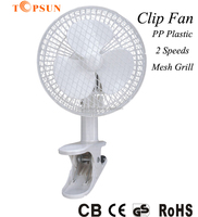 High Quality Electric Plastic 6 inch Mini Small Clip Fan