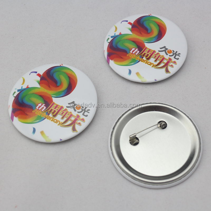 Badge clip safety pin / Advertising badge / Cheap security badges