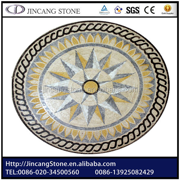 3d Natural Marble Mosaic Wall Mural Paintings