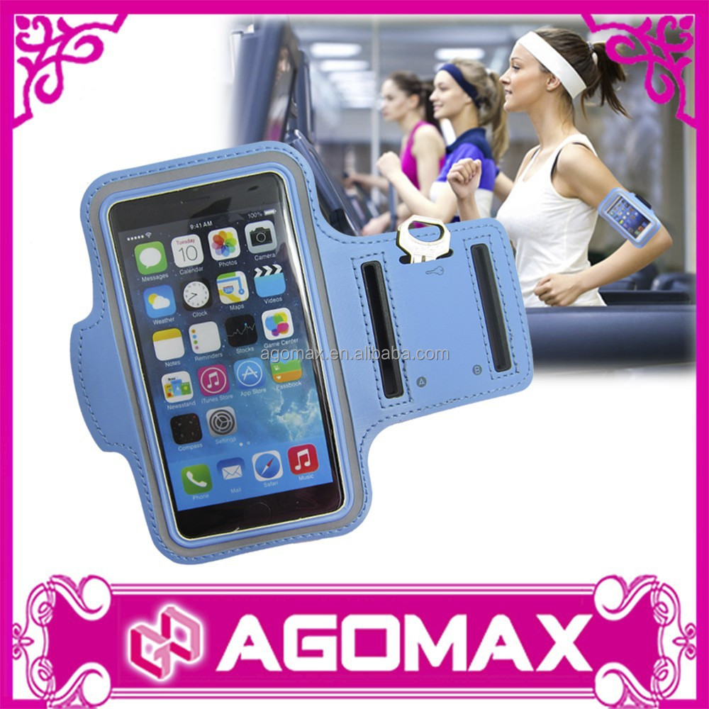 Sports gym running armband case cover key pouch holder