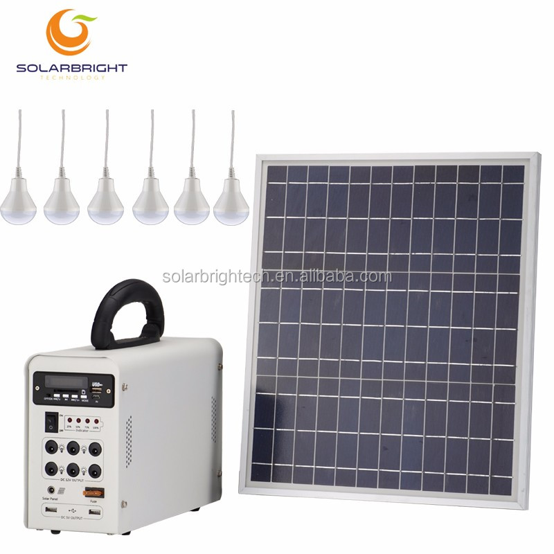 Solar Power Energy Portable Small House Emergency Lighting Home