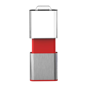 New arrival 1gb 4gb 8gb 16gb 32gb push/pull crystal usb memory flash pendrive