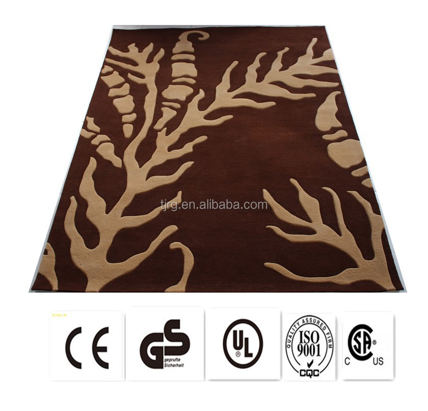 safety exhibition fashion nonslip waterproof microfiber rugs