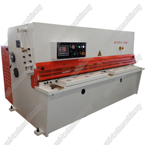 hydraulic shearing machine QC12Y series with high cut-off accuracy