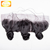 Wholesale good price virgin malaysian human hair invisible ear to ear lace frontal