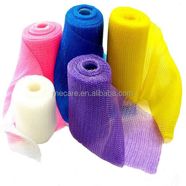 Factory Supply OEM Orthopedic Synthetic Casting Tape, Fiberglass and Polyester Material